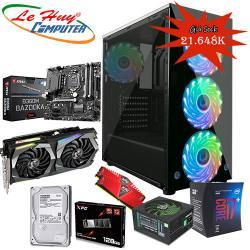 LHC-game07 (i7-8700/Ram 16G/Ssd 128G /Vga GTX 1660Ti gaming 6G / Nguồn 700W/ Case Jetek G9331 3 đèn led)