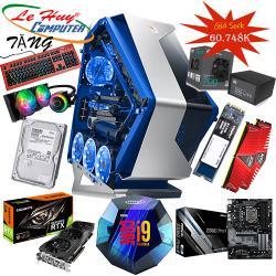 LHC-game08 (i9-9900k/Ram 32G/Ssd 256G /Vga RTX 2080Ti OC gaming 11G / Nguồn 700W/ Case JETEK 9019 3 đèn led)
