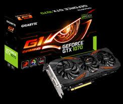 Card Màn Hình - VGA GIGABYTE GeForce GTX1070 G1 Gaming (GV N1070G1 GAMING 8GD)