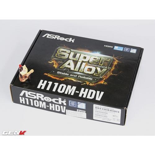 Bo Mạch Chủ - Mainboard Asrock H110M-HDV(DDR4)- TẶNG KÈM MOUSE ASROCK USB