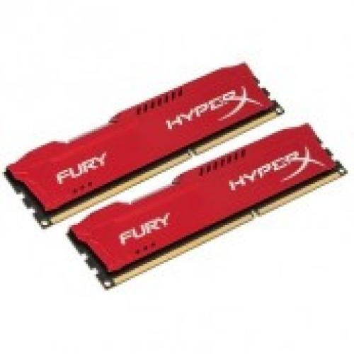 DDR3 Kingston 8GB(1866) Hyper X Fury (2x4GB) (Đỏ)