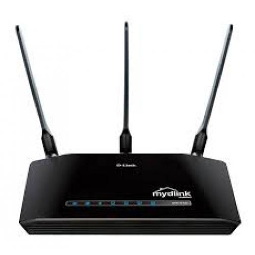 Thiết bị mạng - Router D-Link DIR - 619L Cloud N300 (3 Anten)