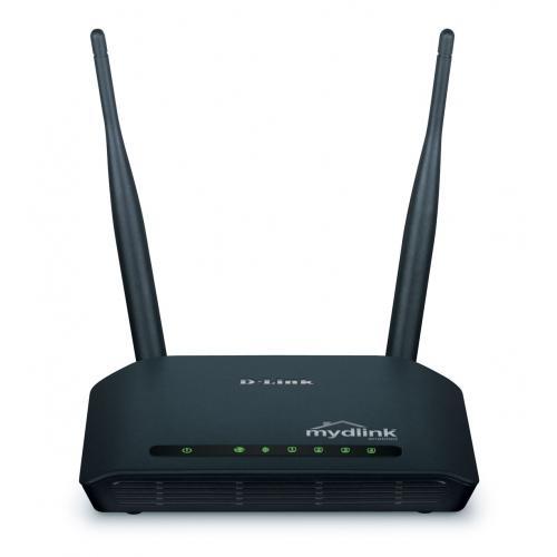 Thiết bị mạng - Router D-Link DIR-605L Cloud Wireless N300 (2 Anten)