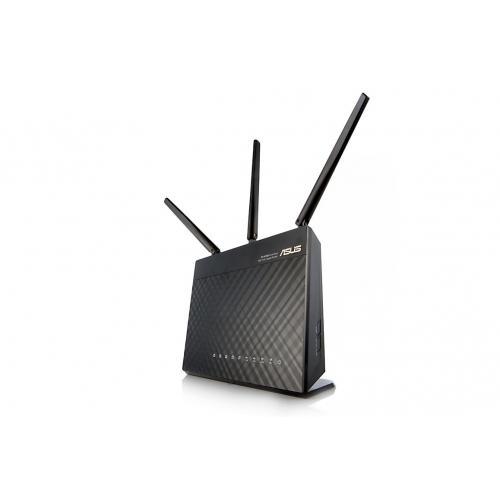Thiết bị mạng - Router Asus RT-AC68U chuẩn AC1900/3