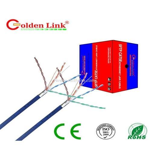 CABLE MẠNG GOLDEN LINK SFTP Cat 5E(Xanh dương)