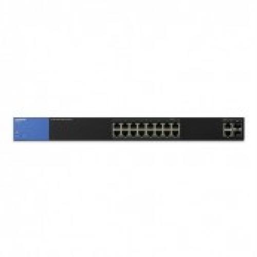 Thiết bị chuyển mạch Switch Linksys 16P P0E LGS318P