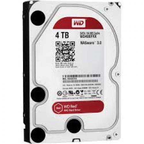 Ổ Cứng HDD Western 4TB - RED Plus WD40EFZX - SATA 3 (6Gb/s) -Intellipower,  Cache 256M-WD40EFAX