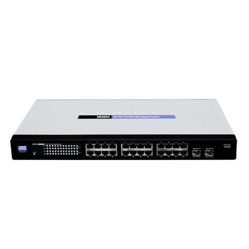 Thiết bị chuyển mạch Switch Linksys 24 Port - SR224T Rackmount