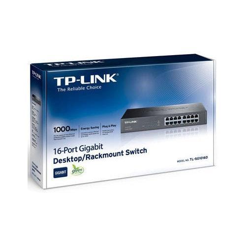 Thiết bị chuyển mạch Switch TP-Link TL-SG1016D 16P 1GB(10/100/1000)