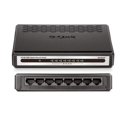 Thiết bị chuyển mạch Switch D-Link 8 Port - DES-1008A