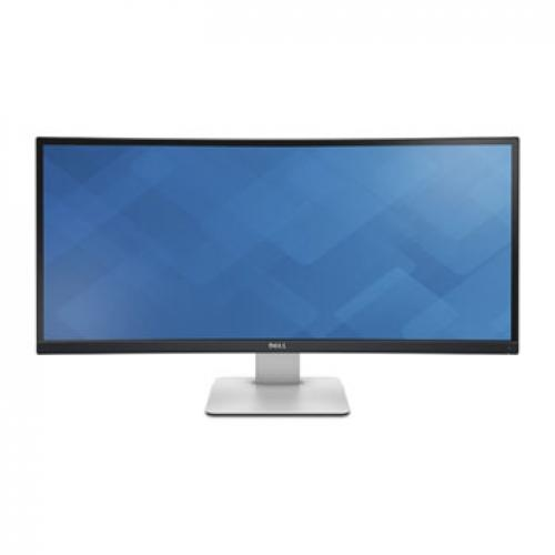 LCD 34' Dell U3415W LED Curved IPS Monitor