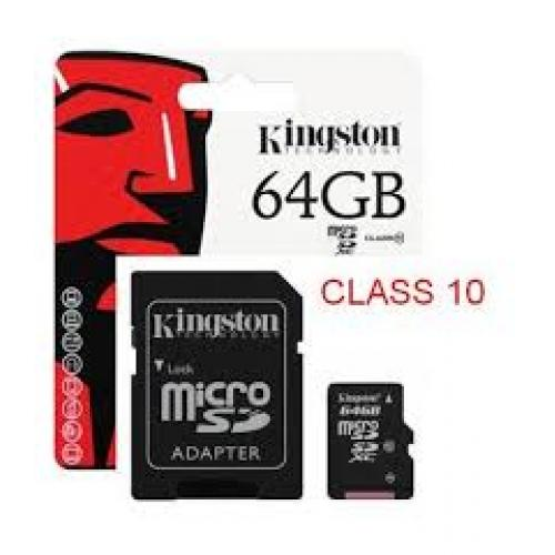 THẺ NHỚ Micro SDHC 64Gb – Kingston CL10