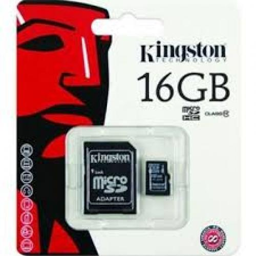 Thẻ nhớ Micro SDHC 16Gb – Kingston CL10