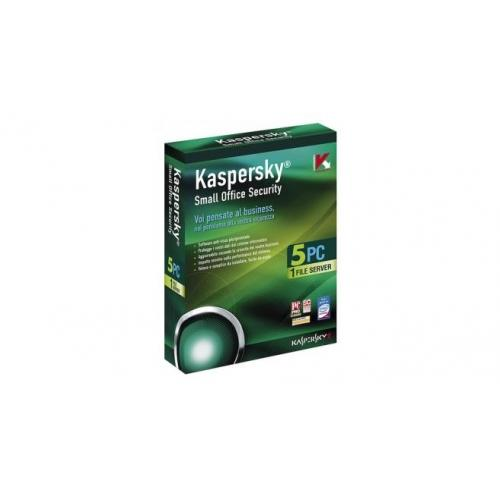 Phần mềm diệt virus KASPERSKY KSOS(1 SERVER+5PC)- Lấy vat 2550000