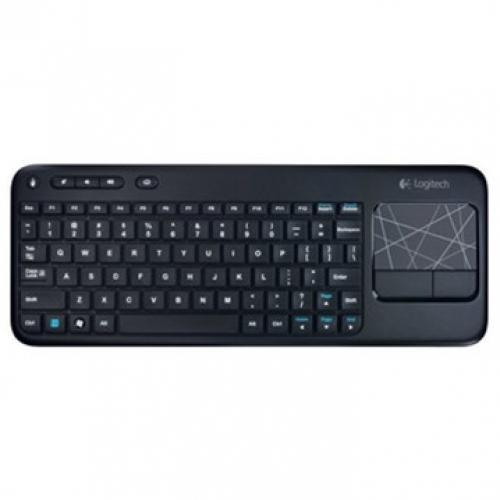 Bàn phím Logitech K400R - Wireless Black