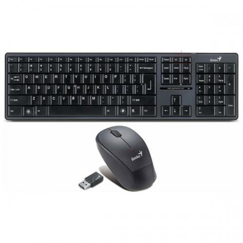 Combo Bàn phím & Chuột máy tính không dây Genius slimstar 8000X