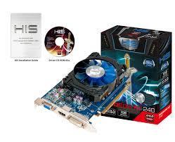 Card Màn Hình - VGA HIS R7240 1GB DDR5 - 128BITS