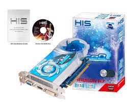 Card Màn Hình - VGA HIS R7250X 1GB DDR5 - 128BITS