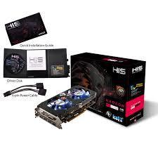 Card Màn Hình - VGA HIS RX470 4GB ICEQ X2 DDR5 256BITS