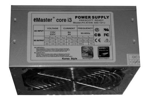Nguồn máy tính 3G EMASTER 600W 602