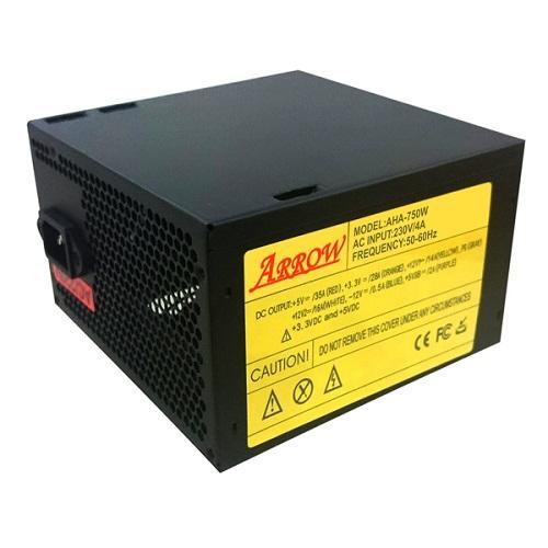 Nguồn máy tính ARROW 750W FAN 12CM