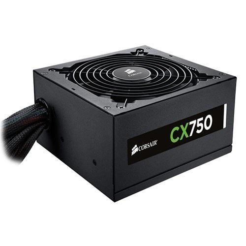 Nguồn máy tính Corsair CX750M - 80 Plus Bronze – New
