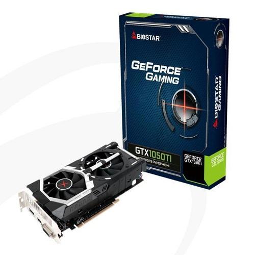 Card Màn Hình - VGA BIOSTAR GTX1050TI 4GB - DDR5/128BITS/2FAN
