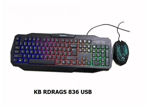 COMBO – KB + Mouse RDRAGS (RD - 836) LED