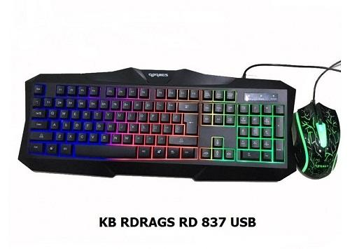 COMBO – KB + Mouse RDRAGS (RD - 837)