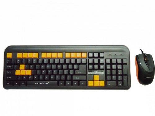 Combo Bàn phím & Chuột máy tính Colovis C87 USB (CH)