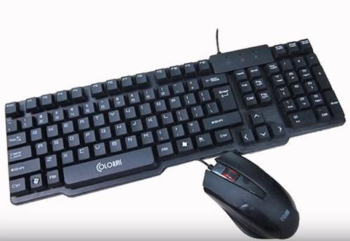 Combo Bàn phím & Chuột máy tính Colovis C89 USB GAME (CH)