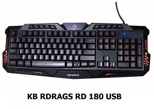 Bàn phím RDRAGS RD180 USB