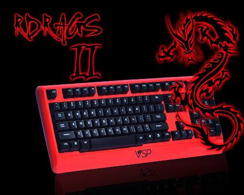 Bàn phím RDRAGS II USB
