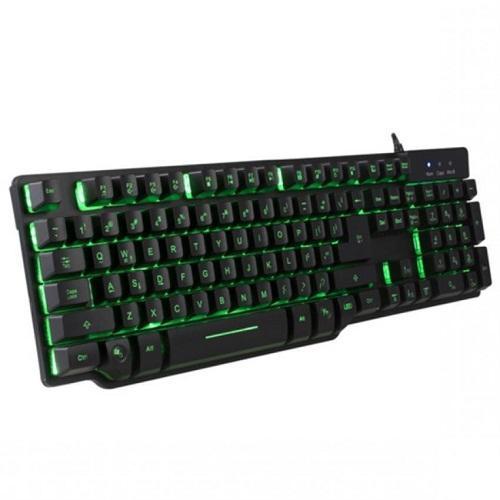 Bàn phím Ensoho E-GL121K Gaming phím Giả cơ Led 3 màu