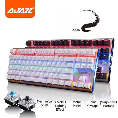 Bàn phím cơ A-Jazz AK40 Led