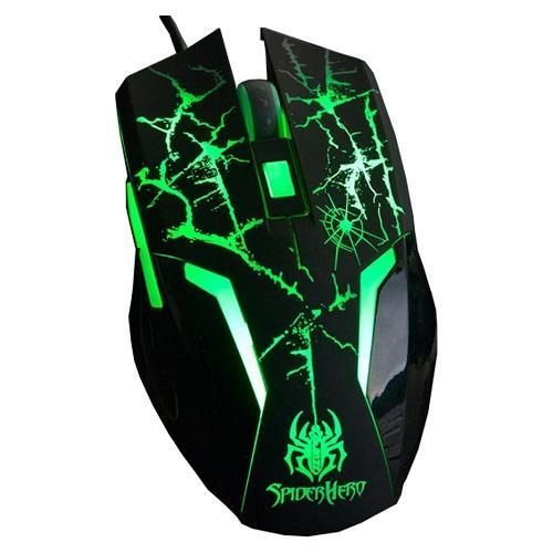 Chuột máy tính A-JAZZ Spider Hero LED 7 MÀU