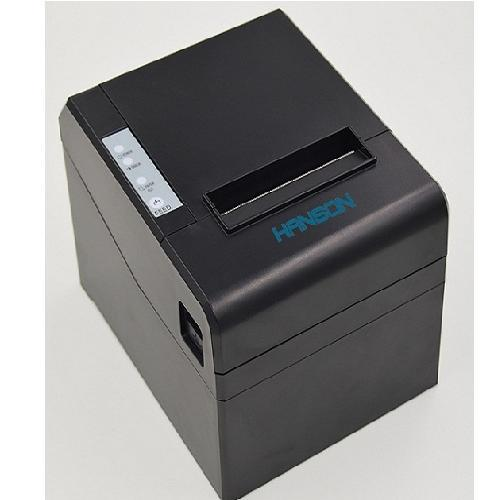 Máy in hóa đơn Hanson R83: cổng USB +LAN