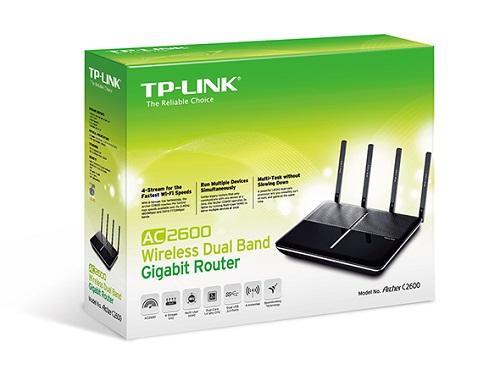 Thiết bị mạng - Router TP-Link Archer C2600-AC2600