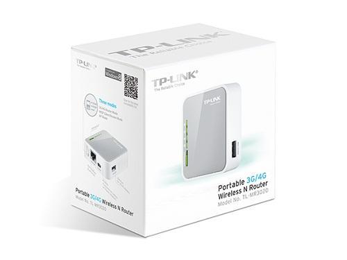 Thiết bị mạng - Router TP-Link TL-MR3020