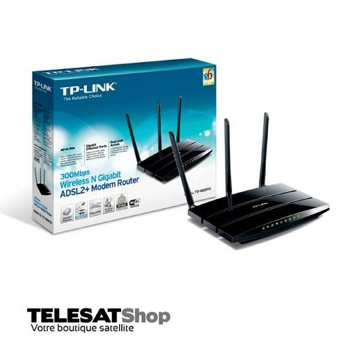 Modem ADSL + Wireless 4Port TPLINK TD-W8970