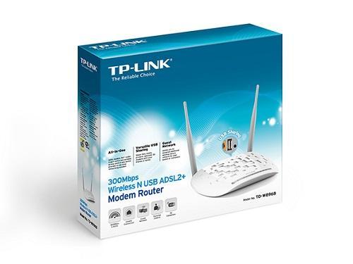 Thiết bị mạng - Modem TP-Link ADSL Wireless 4Port TD-W8968