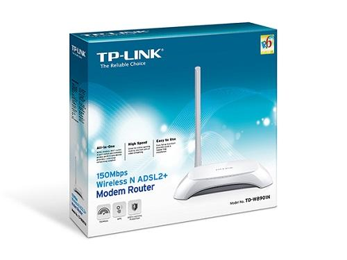 Modem ADSL + Wireless 4Port TPLINK 8901N