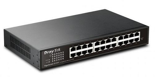 Thiết bị chuyển mạch Switch Draytek Vigorswitch G1241 24 Port Gigabit