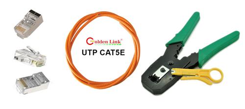 Kìm bấm dây mạng Goldenlink Cat5/Cat6 (UTP/FTP bấm đc đầu RJ45/RJ11/RJ12)