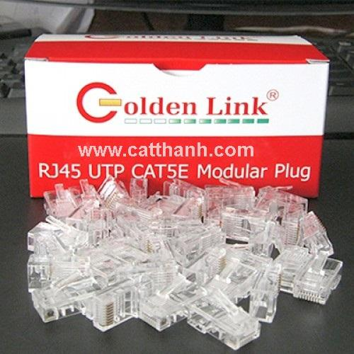Đầu bấm dây mạng RJ45 Goldenlink UTP