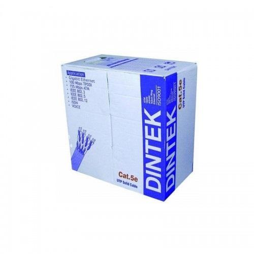 Cable Dintek CAT5E UTP, 4 pair, 24AWG, 305m/box