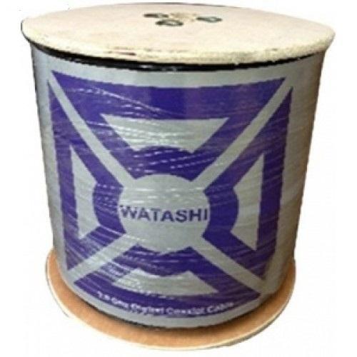 Cáp Camera Watashi WCP 039 RG6 + 2C*07MM - Cuộn 100M (Black)