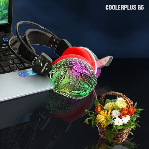Headphone COOLERPLUS G5 LED RUNG