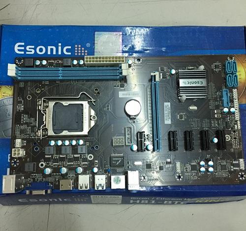Mainboard - Bo Mạch Chuyên BITCOIN ESONIC H81-BTC-KING (BITCOIN)