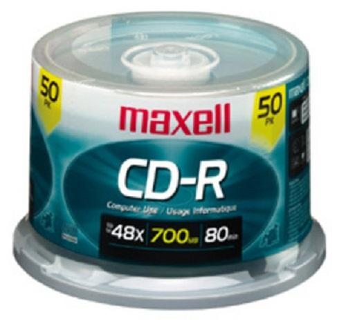 Đĩa Cd MAXCEL 1 blook 50 cái